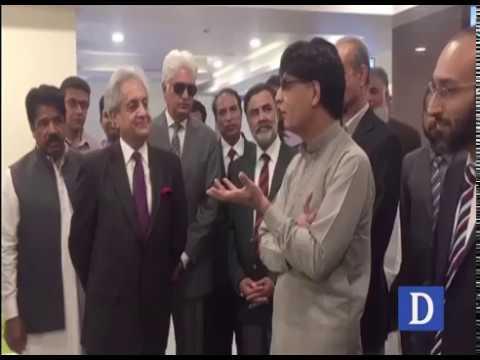 Interior Minister inaugurates NADRA office at Karachi