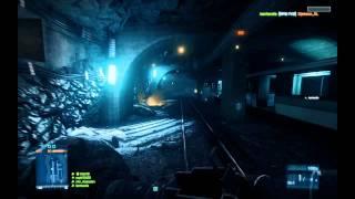 Battlefield 3: 128 Player Hacked Server Gameplay