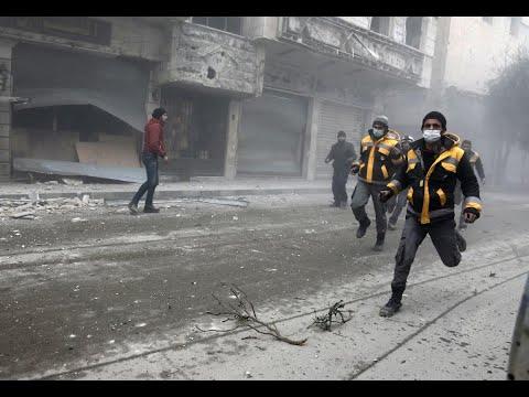 النظام يواصل قصف الغوطة الشرقية لليوم الخامس على التوالي  - نشر قبل 2 ساعة