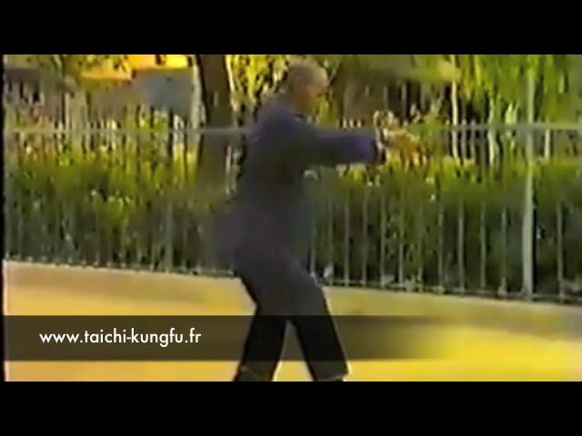 Vidéo Ancienne 6/12 - Tai Chi style Chen Xiaojia Yilu par Wang Zi Gong (75 ans)
