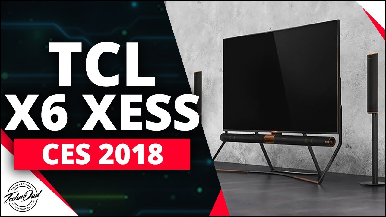 CES 2018 | TCL X6 XESS Demo | QLED FALD with 600 Zones!!
