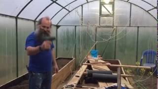 Строим новую теплицу для собственного выращивания свежих овощей - Азовские плавни
