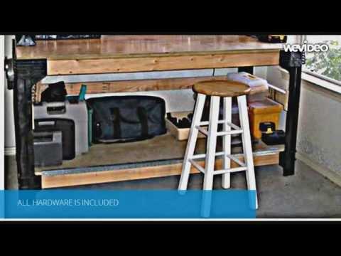 DIY Workbench Legs System-Customizable Work Table