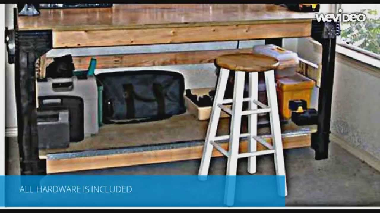 Diy Workbench Legs System Customizable Work Table Youtube