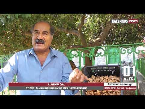 2-9-2019 Καλύμνικα σύκα και πολιτική από το Γιάννη Κατσοτούρχη