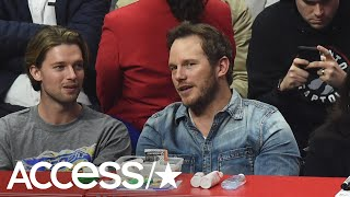 Chris Pratt Spotted Out At Clippers Game With Katherine Schwarzenegger's Brother Patrick | Access