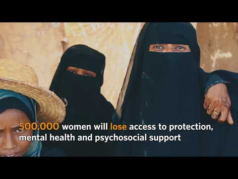 Lives of Yemen's women and girls on the brink as funding runs out