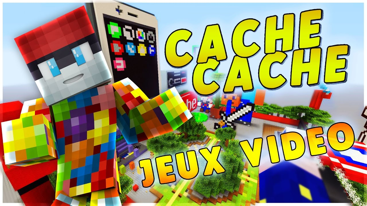 cache cache minecraft map jeux vid os 3 youtube. Black Bedroom Furniture Sets. Home Design Ideas