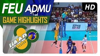 UAAP 80 MV Final Four: FEU vs. ADMU | Game Highlights | April 21, 2018