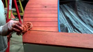 1946 Gar Wood Ensign Staining Complete 03 03 2015