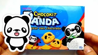DIY Panda Choco Kit - Make Your Own Chocolate - Sweets & Cookies From Thailand