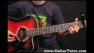 Carrie Underwood Feat Randy Travis - I Told You So, by www.GuitarTutee.com