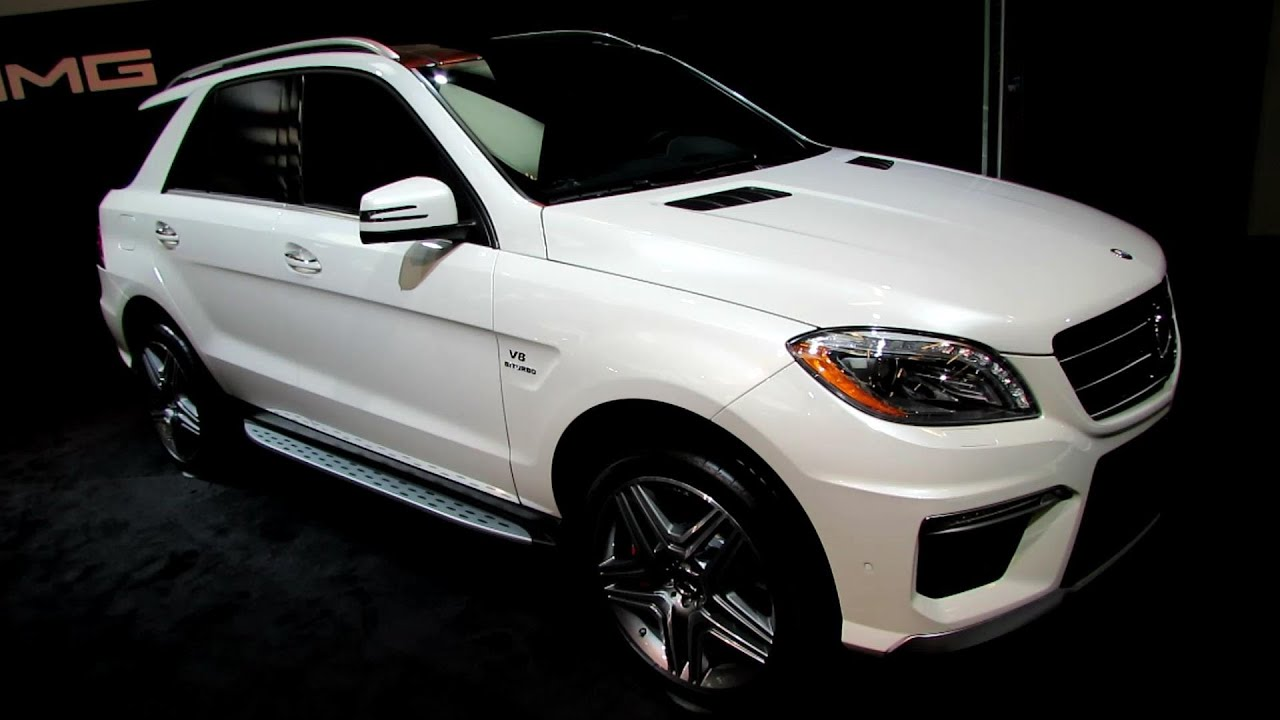 2014 mercedes benz ml class ml63 amg exterior interior walkaround 2014 montreal auto show. Black Bedroom Furniture Sets. Home Design Ideas