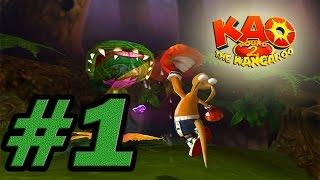 Прохождение Kao the Kangaroo Round 2 - #1 - Начало. Лес бобров
