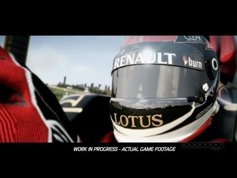 Nürburgring Hot Lap - F1 2013 Official Gameplay