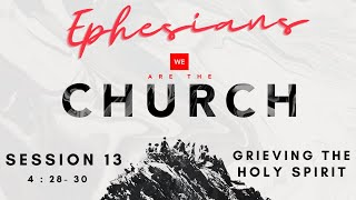 We Are The Church : Session 13 - Grieving The Holy Spirit