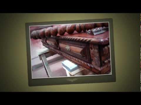 Oscar Deco, Inc. of Corona, Queens, New York Restores an Antique Desk