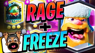 New Freeze Combo that will make your opponents TERRIFIED | Clash Royale