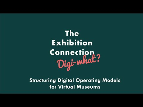 Structuring Digital Operating Models for Virtual Museums