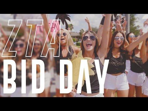 Zeta Tau Alpha at UCF Bid Day 2016