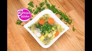 Gemüsesuppe / Gemüseeintopf / gesund und lecker / Mit diesem Rezept nimmst du ab!