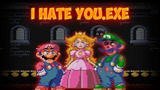 LUIGI THE BETRAYER!! | I Hate You.exe [MARIO HORROR GAME]