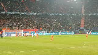 SM Caen - Lyon 01.03.2018 1/4 finale Coupe de France But du 1-0 en direct
