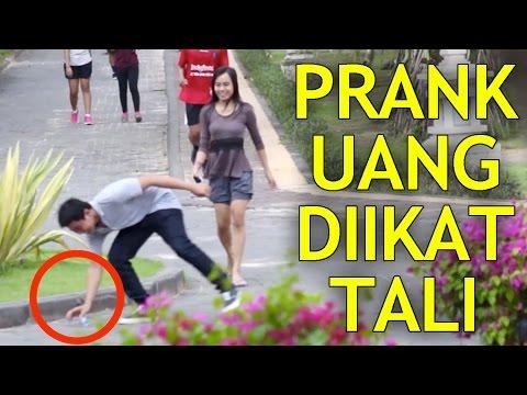 JAIL! Uang Diikat Senar Pancing!! Prank Indonesia Lucu Koplak!