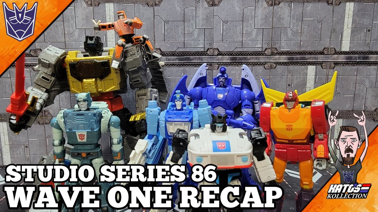 Transformers Studio Series 86 Recap by Kato's Kollection