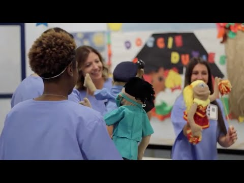 Athena Career Academy: Learning In The Early Childhood Education Lab