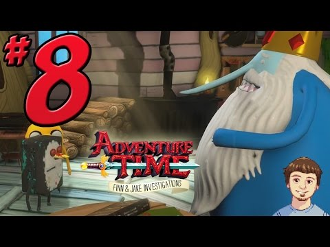 Adventure Time: Finn & Jake Investigations - PART 8 - The Hairy Beast & Ice King Moves In!