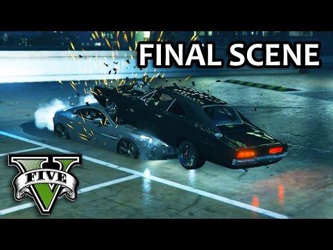 GTA V - Fast and Furious 7 Final Battle Scene [Dom vs Shaw]