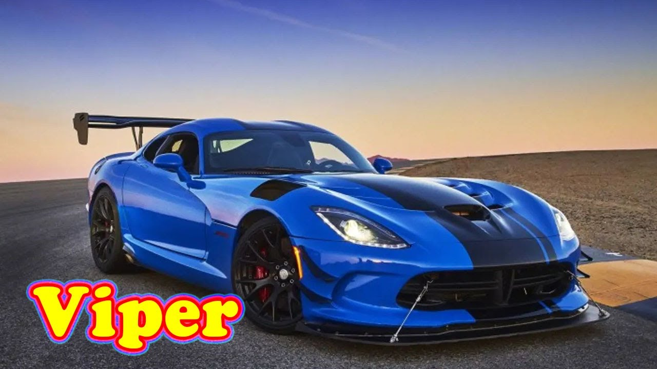 New Sports Car 2022 Dodge Viper Luxurious Design