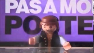 Parodie Touche Pas A Mon Poste (Stop Motion) Playmobil avec danse de l'épaule Video