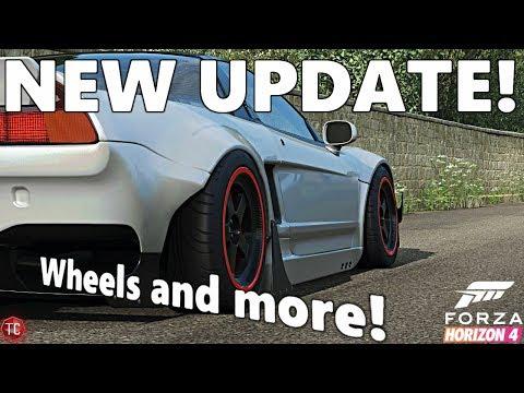 Forza Horizon 4: NEW WHEELS, NEW CUSTOMIZATION, FULL GAMEPLAY!!