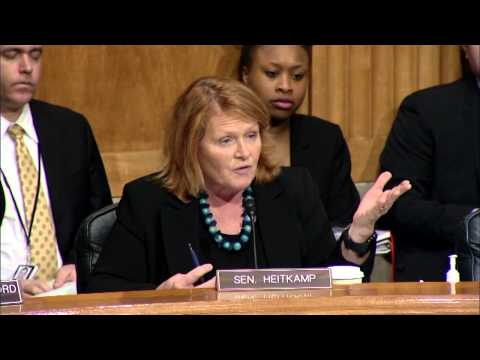 Ranking Member Heitkamp Stresses Need to make Federal Regulations Efficient and Effective