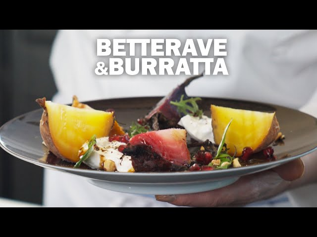 BETTERAVE & BURRATA by Éric Briffard