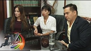 Deniece Cornejo & Cedric Lee exclusive interview on TV Patrol