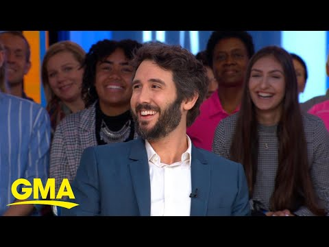 Josh Groban makes big announcement exclusively on 'GMA' l GM