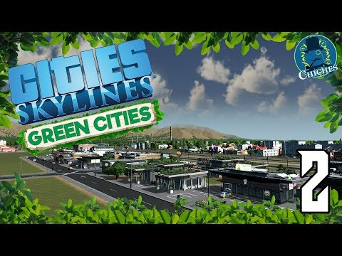 Cities Skylines: Green Cities #2 Las Tiendas Ecológicas | en español