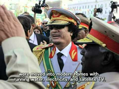 Personal tribute to Muammar al-Gaddafi