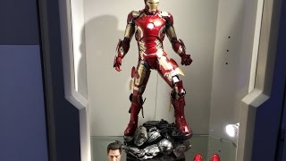"""First Look"" 1/4 Scale Iron Man MK43 Age of Ultron by Hot Toys"