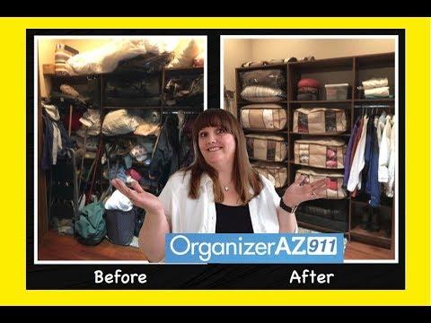 Getting Organized - Embracing the Decluttering Process (Organizer AZ 911)