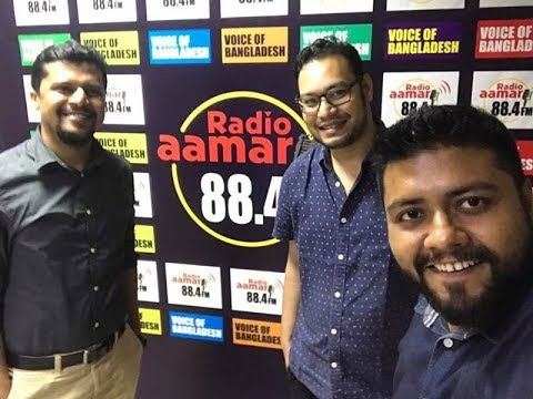 Radio Aamar 88.4fm l Corporate Icon l Md. Mehraz Mueed(Jovago - Country Manager) l 22.07.2017