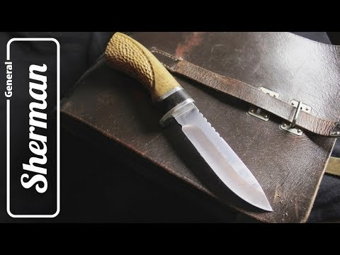 DIY knife handle making