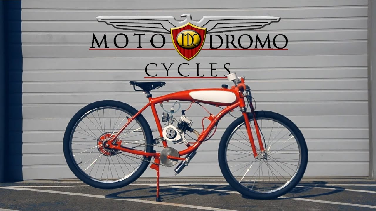 Moto Dromo Cycles 9 Boardtrack Styled Motorized Bicycle