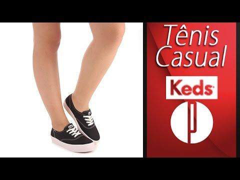 Tênis Casual Feminino Keds Triple
