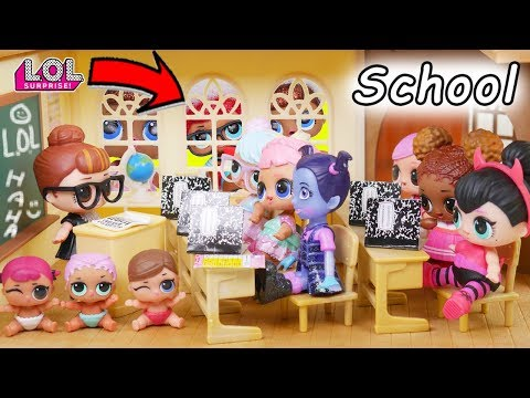 L.O.L. Surprise! Dolls School Toy Doctor Baby Babysit Silly Hair House Lil Sisters Custom Unboxed!