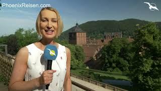MS Antonia unterwegs nach Ruedesheim, Heidelberg  & Strassburg