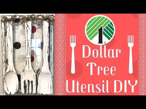 Dollar Tree Utensil DIY